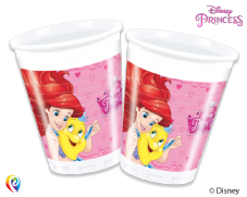 8 Disney Princess Plastic Party Cups